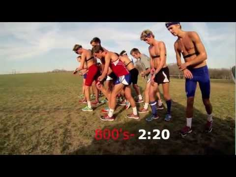 KU XC Workout Pre-Regionals 2012