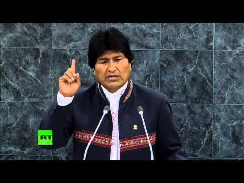 VERSIÓN COMPLETA: Discurso de Evo Morales en la Asamblea General de la ONU