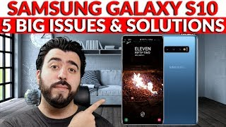 Samsung Galaxy S10 5 Big Issues & How To Fix Them - YouTube Tech Guy