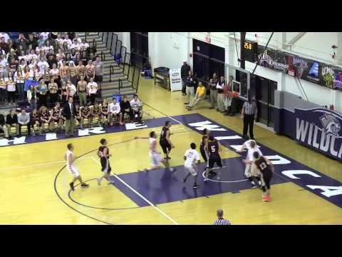 NH Sports Page Basketball D II Semi-Finals Lebanon vs Portsmouth Highlights 3-18-15