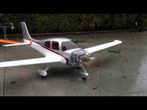 Hangar 9 30cc Cirrus with VVRC 40cc twin