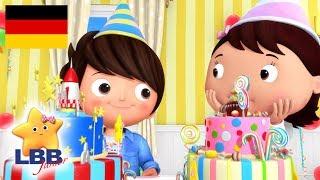 Der Geburtstagskuchen   Karikatur für Kinder   Kinderlieder   Little Baby Bum Junior Deutsch