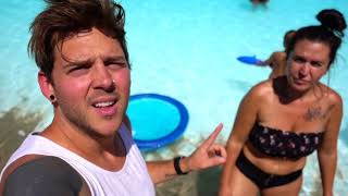 THERE'S SOMETHING IN THE POOL!! 😬 You wont believe WHAT WE FOUND!!  | Slyfox Family