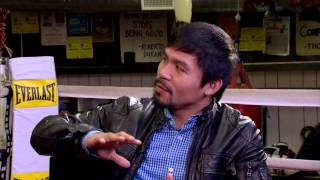 Manny Pacquiao talks about what being a Christian REALLY means before the biggest fight in history