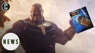 Avengers: Infinity War Blu-Ray Details Revealed