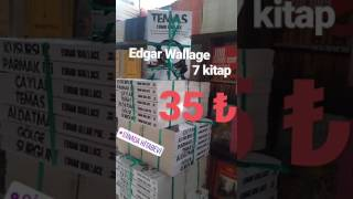 Edgar Wallage Macera Kitap seti