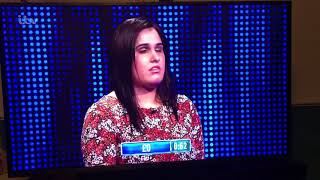 The Chase - Greatest minute of quiz show TV you will ever see featuring the legendary Charan