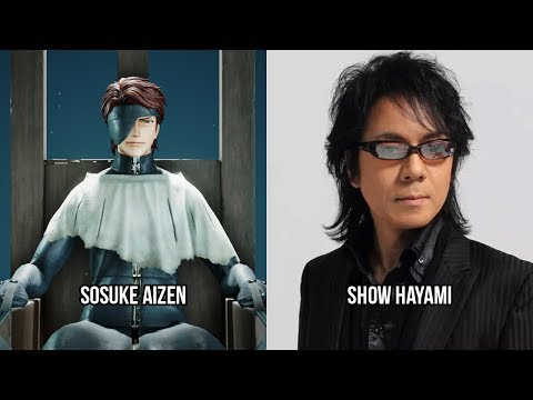 Characters And Voice Actors - Jump Force