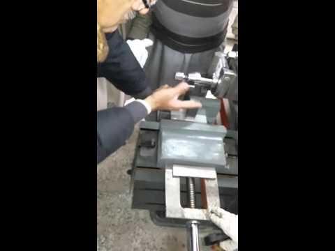 Jica training (job setting on  shaper machine)