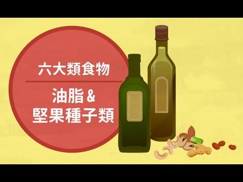 6大類食物_油脂與堅果種子類