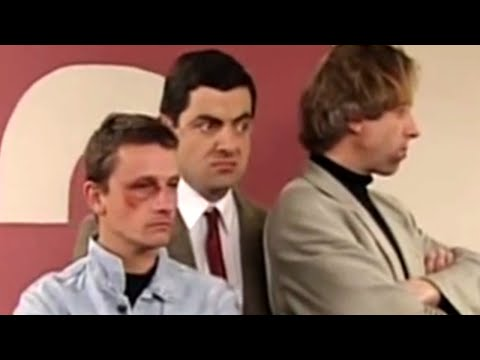 Mr Bean - Back of the hospital queue