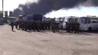 БРСМ. 8:00.10 июня СМИ не пускают в зону пожара.