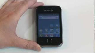 Getting started with your Samsung Galaxy Y