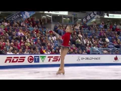 Touching performance of Olympic Gold Medalist* Yulia Lipnitskaya at 2013 Skate Canada