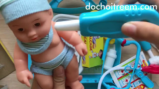 Đồ chơi trẻ em bác sĩ khám bệnh em bé (Chim Xinh)