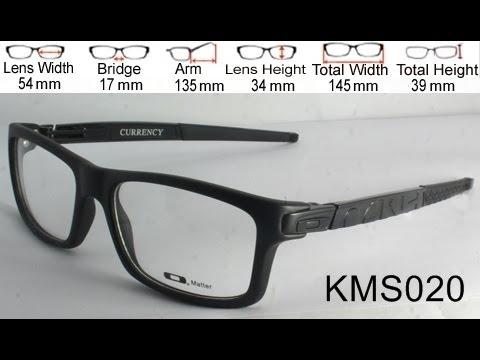 Review Frame Kacamata Baca Oakley Currency Youtube