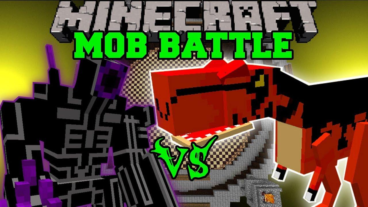 Robo Warrior Vs Alosaurus Minecraft Mob Battles Arena