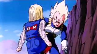Dragon Ball Z Vegeta vs Numero 18