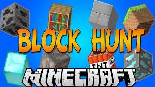 MINECRAFT: HIDE AND SEEK (BLOCK HUNT) w/Kenny and Preston