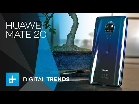 Huawei Mate 20 - Hands On Review