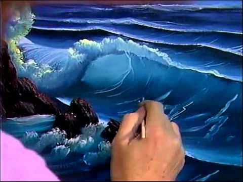 Dark Blue Sea Paintings