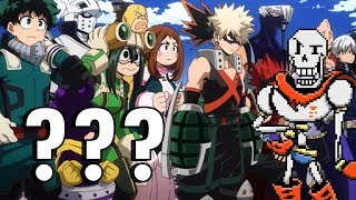 My Hero Academia First Impressions by my Roommate