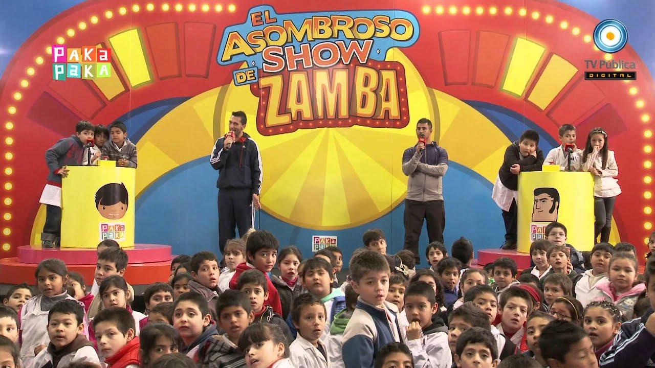 Zamba el asombroso show de zamba jos c paz youtube for El asombroso espectaculo zamba