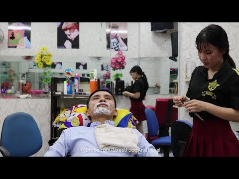 Barbershop Vietnam Relax with Shave Service