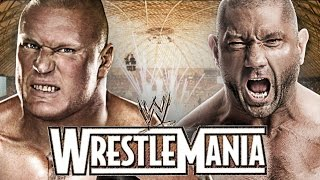Brock Lesnar vs Batista Wrestlemania 31 Promo HD