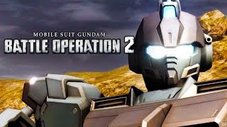 Mobile Suit Gundam Battle Operations 2 - Official Announcement Trailer