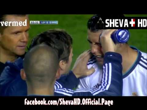 Levante vs Real Madrid ## Injury of Ronaldo