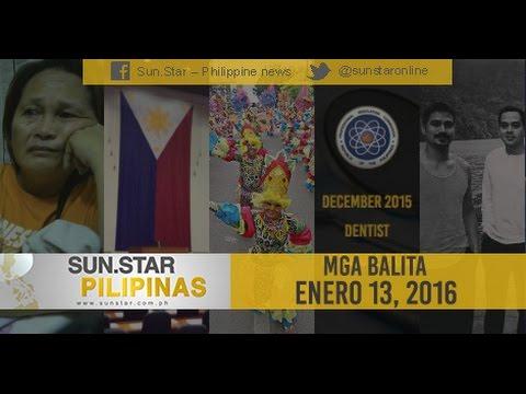 SUN.STAR PILIPINAS JANUARY 13, 2016