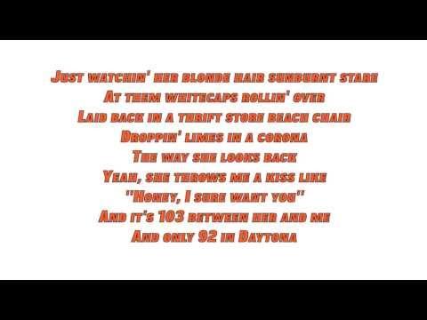 Jake Owen - Beachin' (Lyrics)