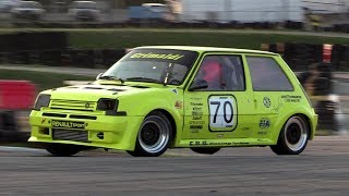Renault 5 GT Turbo Proto 1.4 300hp - Race action, turbo sound & on board