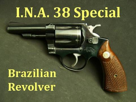 I.N.A. Tiger 38 Special Brazilian Revolver Review