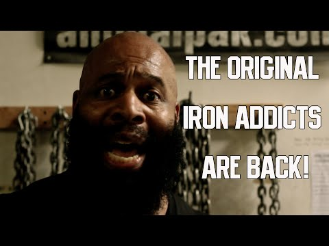 THE O.G. IRON ADDICT AND HIS MUTHA FUCKIN IRON CREW - CT FLETCHER