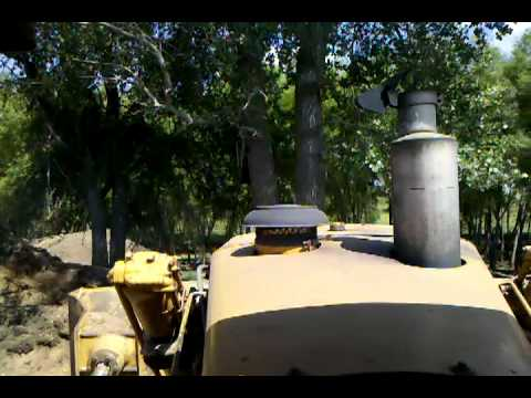 Cat D9 dozer vs tree