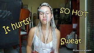 Download Lagu What people DONT tell you ABOUT BRAIDS / Box braids | Claudia Varanski Gratis STAFABAND
