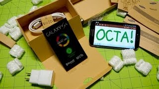 Galaxy S 4 OCTA Unboxing & First Boot