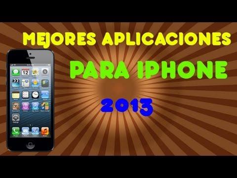 Mejores Aplicaciones para Iphone 2013