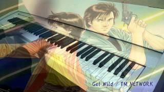 Get Wild / TM NETWORK  ピアノ