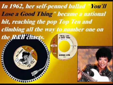 You'll Lose A Good Thing - Barbara Lynn (june 1962) video