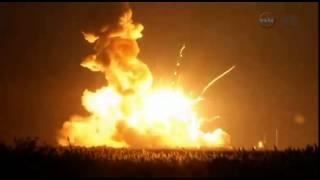Antares Rocket Explodes!