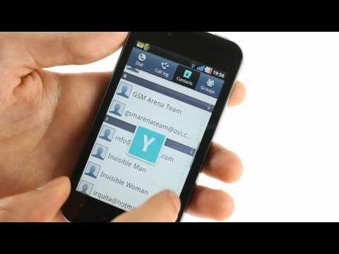 LG Optimus Black P970: User interface demo
