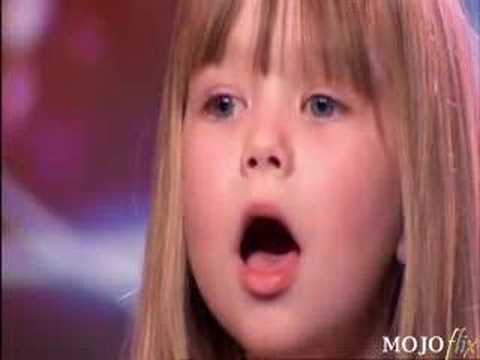 Six Year Old Girl Wows Simon video