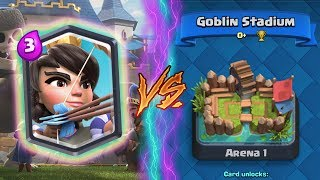 Clash Royale | PRINCESS TROLLING ARENA 1! | *FUNNY MOMENTS* (Drop Trolling #29)