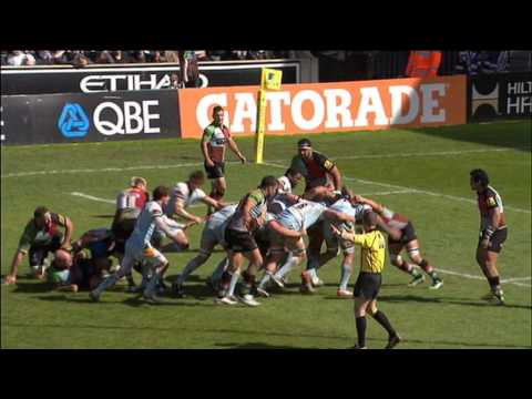 Harlequins vs Northampton Saints 22-19 | Premiership Rugby Round 22