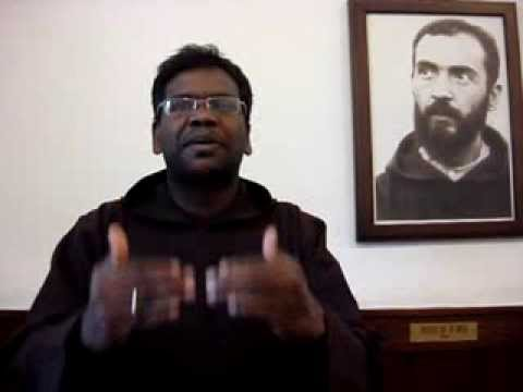 Hello from San Giovanni Rotondo - Fr. Antony from India