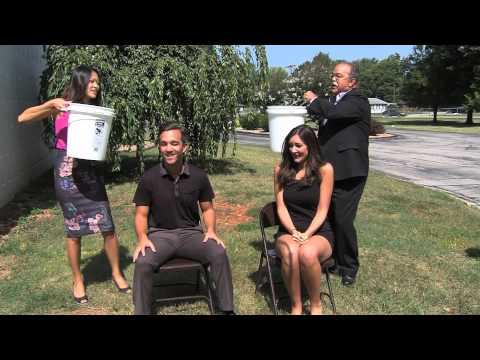 KOLR 10's Lindsay Clein and Matt Lupoli Take on Ice Bucket Challenge for ALS