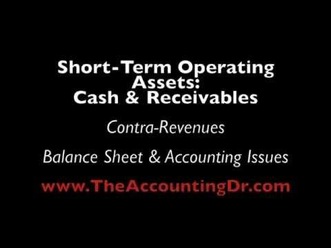 Contra-Revenues & Accounting Issues